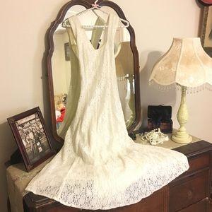Vintage off white dress